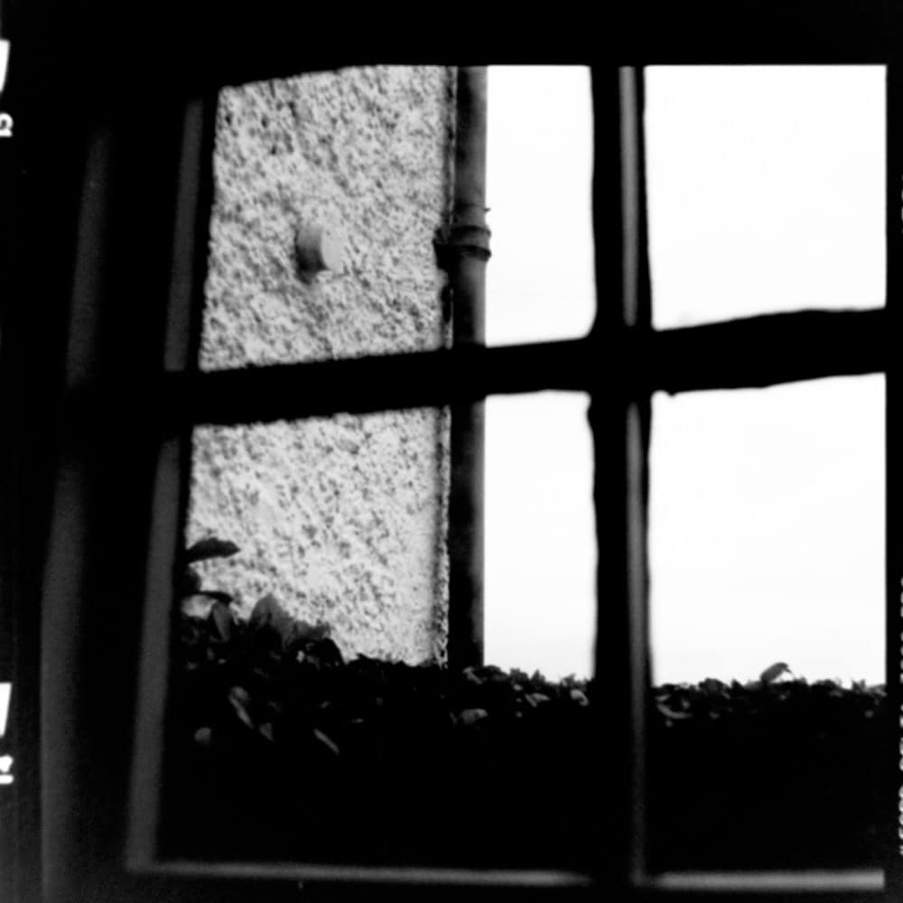 The Pub Window, February 2017 - Hasselblad 500C with ILFORD Delta 3200 Professional