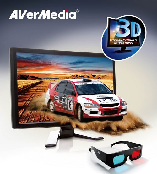 AVerMedia Launches the World First 3D TV Tuner Lineups