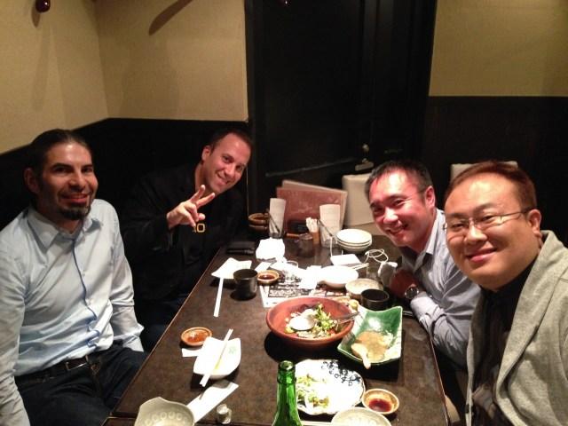 Yoav, Thomas, Mii and Katz
