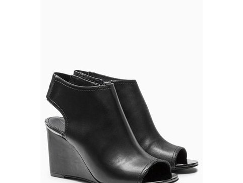 Peep toe boots 3 Suisses