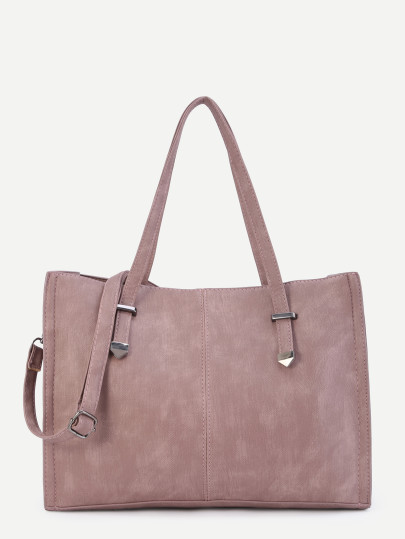 Suede parma shopping bag Shein