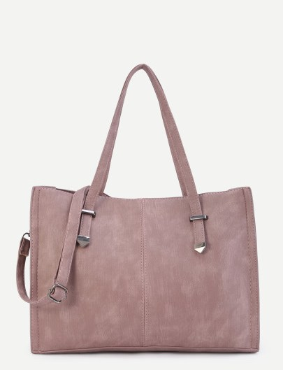 Suede parma shopping bag Shein