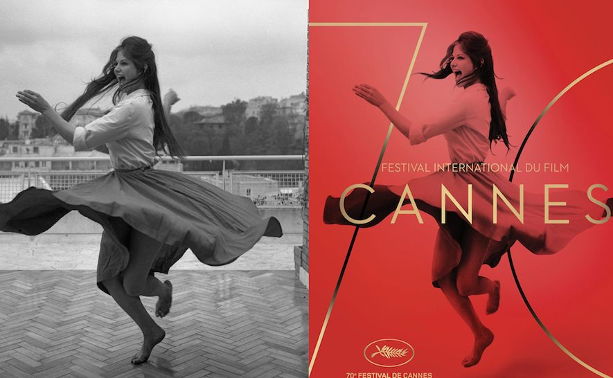 Poster of 2017 with Claudia Cardinale, before/after From Premiere