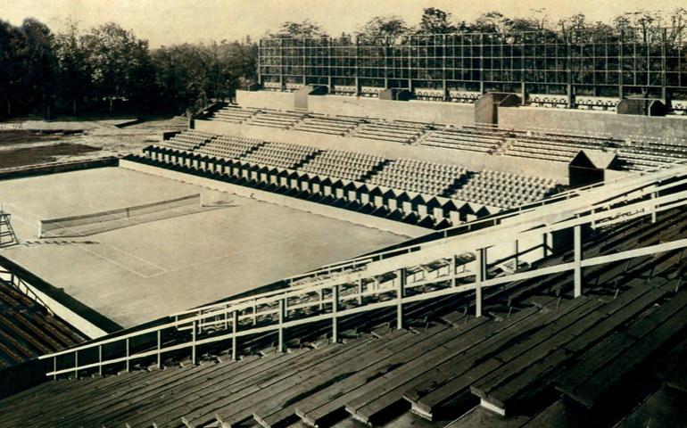 Built of Roland-Garros Stadium From Overblog