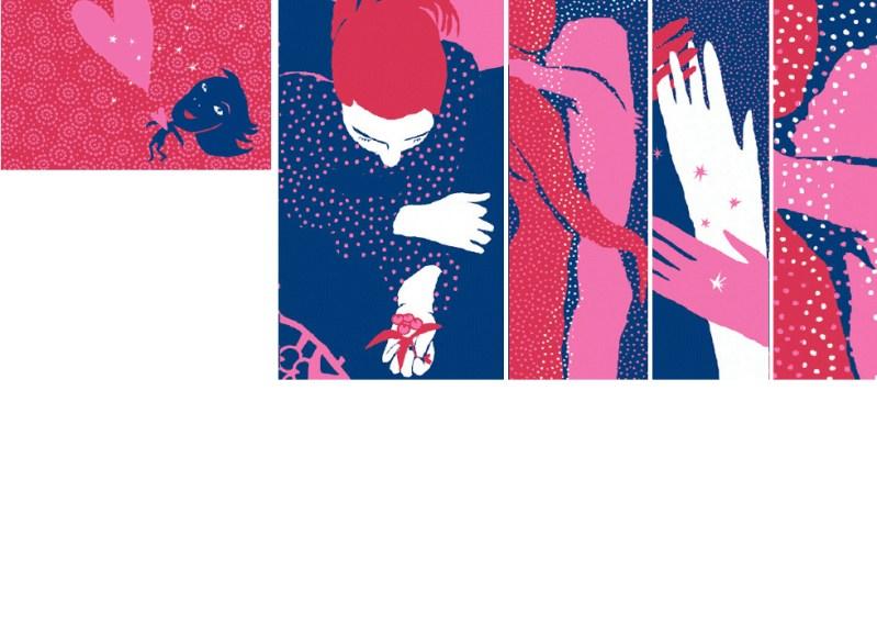 EDITORIAL Ilustraciones para La Vanguardia Dominical. San Valentín.
