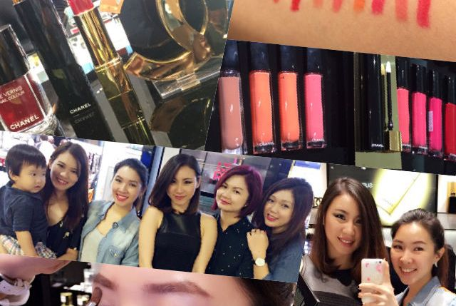 Chanel Le Rouge Allure Gloss ION Orchard Launch 022
