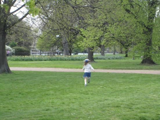 Ena London Girl on Park