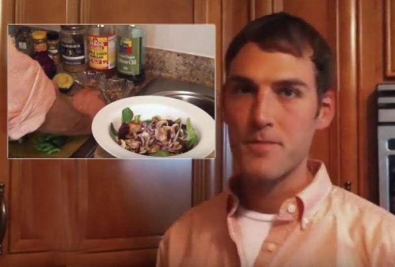 Η συνταγή της αντικαρκινικής σαλάτας του Chris Varkala
