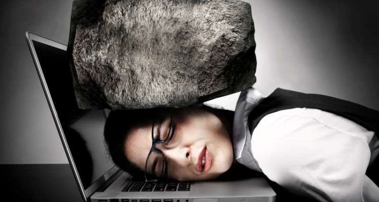 βάρος στρες πονοκέφαλος κούραση