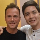 Alden Richards and Bryn White