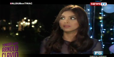 [VIDEO] Tonight with Arnold Clavio: Maine Mendoza, re-enacts the first split-screen kilig
