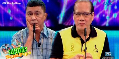 WATCH: Mayor Juterte Meets P-Nyoy On Sunday PinaSaya