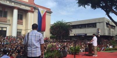 Full Speech, Transcript of Rodrigo Duterte During Davao Flag Ceremony June 27 2016