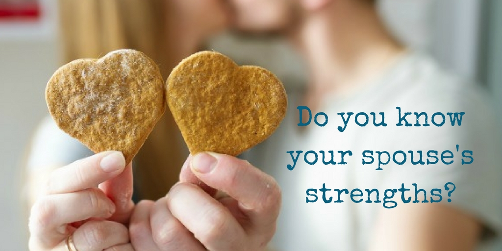 Know your Spouse's Strengths