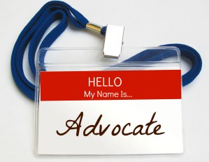 name badge advocate