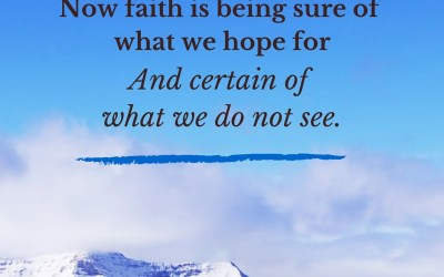 Faith is an Every Day Decision