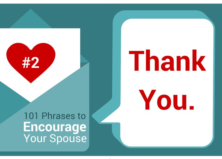 Gratitude in Marriage