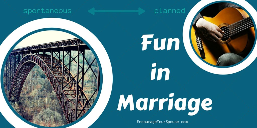 Two ways to Inject Fun into Your Marriage