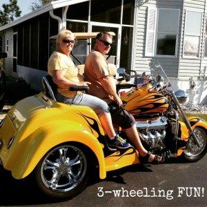 3 wheeling fun