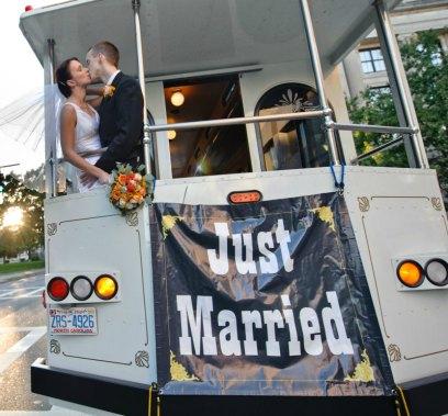 kiss on a trolley - fun on wheels
