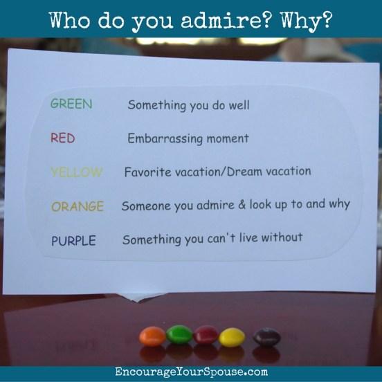 Who do you admire