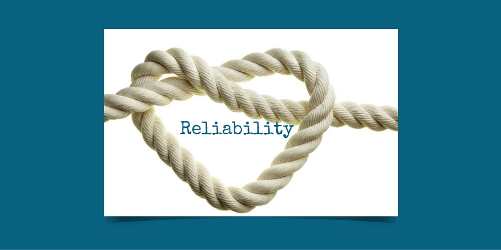 Reliability is a Weighty Value