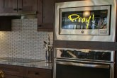 ways to remember to pray - write it on your microwave