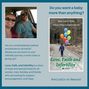 Love Faith and Infertility Available on Amazon sq