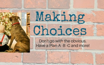 Making Choices – Do you have a plan?