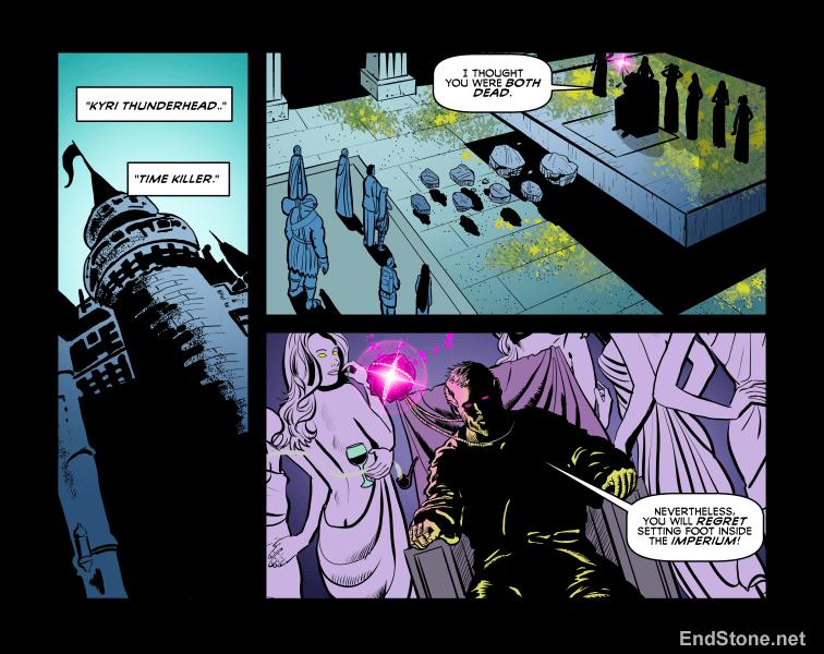 14.25 Endstone Fantasy Comic