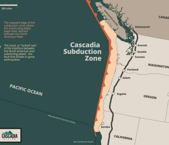 cascadian subduction zone