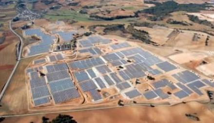 Spain Olmedilla 60 MW Solar PV plant