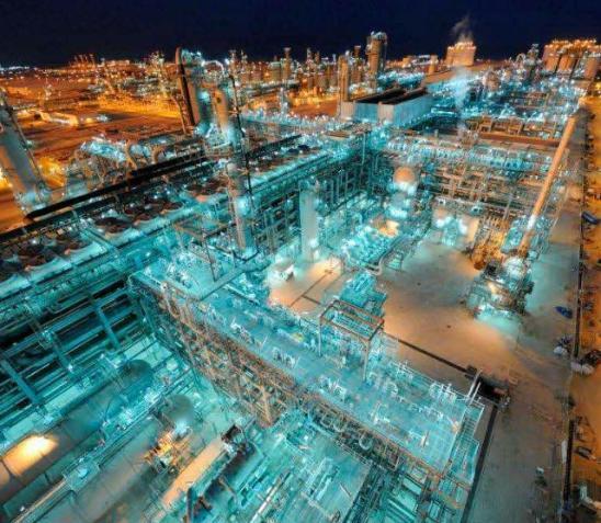 Qatar LNG plant