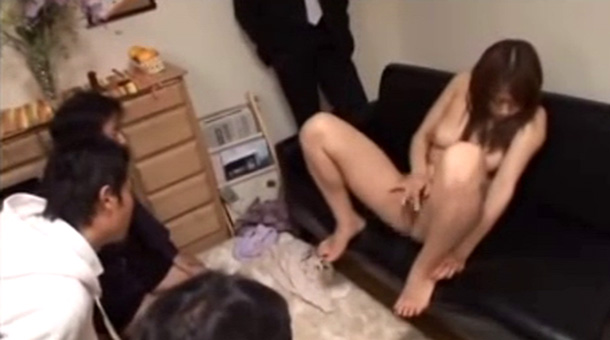 wife topless for husbands friends