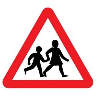 children road sign