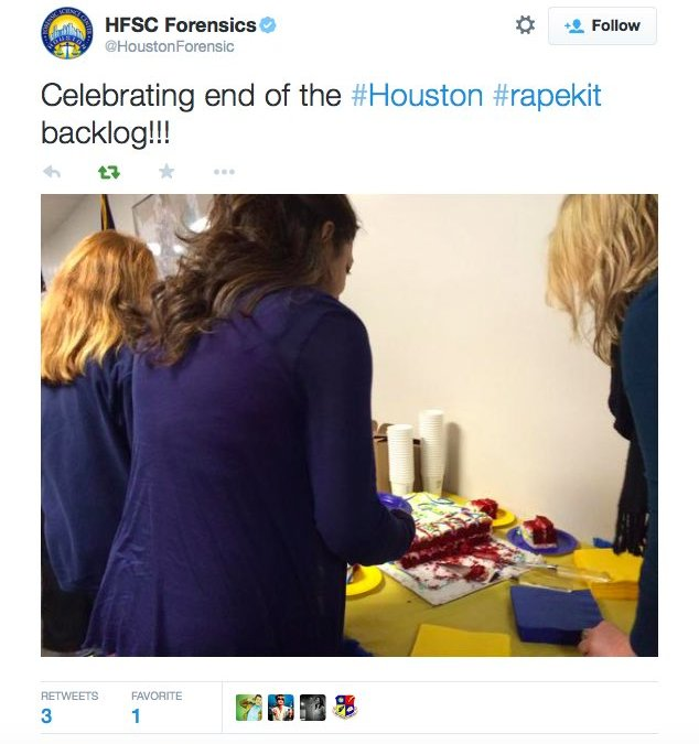Class claims Houston let serial rapist run loose