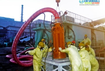 Setting work of submersible pump