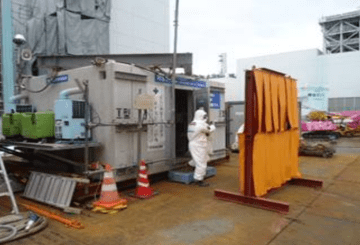 Radiation shelter and shielding wall