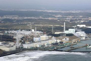 Tokyo Electric Power Co.'s tsunami-crippled Fukushima Daiichi nuclear power plant is seen in Fukushima prefecture