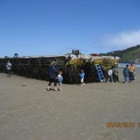 State of Oregon admits dock which washed up in Oregon first big piece of debris from Japan