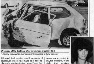 Karen Silkwood - Car Accident