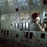 Inside the Chernobyl Unit 4 control room