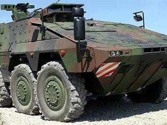 Boxer multirole armoured fighting vehicles