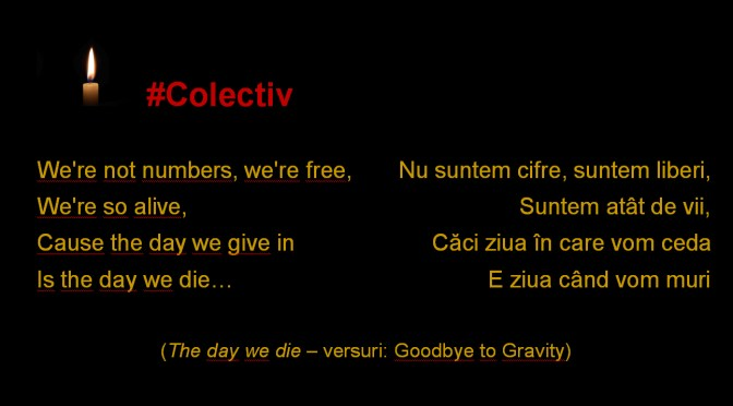 colectiv the day we die goodbye to gravity copy