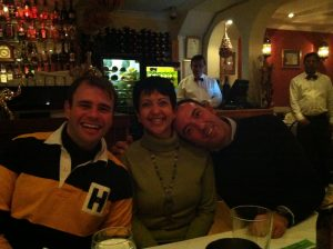 How lucky am I to have two lovely clients, Leandro and Giuliano.