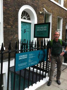 Pio getting some Dickensian treatment in London.