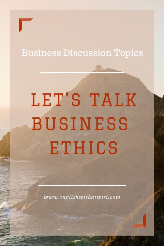 Business Discussion Topics