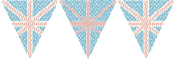 free printable paper bunting for queens diamond jubilee