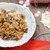Mushroom Risotto in a Jar: DiY Edible Gift