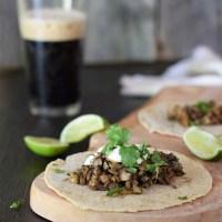 Hearty Mushroom Cilantro Tacos